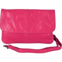 Women's Latico Lidia Crossbody Bag 7981 Fuchsia Leather