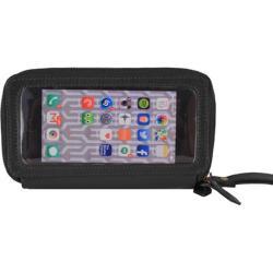 Women's Latico Lulu Phone Wallet 5790 Black Leather - Thumbnail 0
