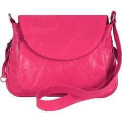 Women's Latico Mitzi Shoulderbag 7633 Fuchsia Leather