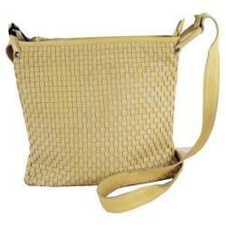Women's Latico Wren Handbag 4002 Yellow Leather