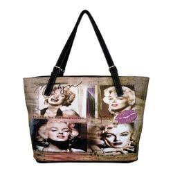 Women's Marilyn Forever Beautiful Memories Handbag MM2122 Black