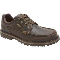 Men's Rockport Gentlemen's Boot Waterproof Moc Toe Oxford Koa Leather