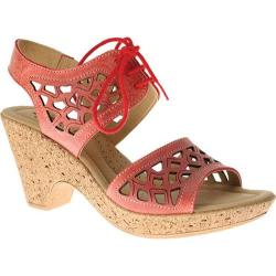 Women's Spring Step Lamay Coral Leather