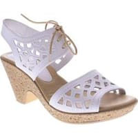 Women's Spring Step Lamay White Leather