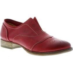 Women's Blackstone HL55 Red Full Grain Leather