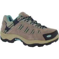 Women's Hi-Tec Bandera Low Waterproof Taupe/Dusty Mint