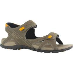 Men's Hi-Tec Laguna Strap Dark Taupe/Light Taupe/Gold