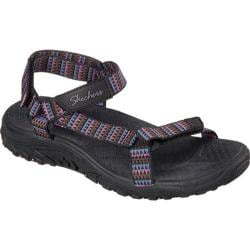 Women's Skechers Reggae Redemption Sandal Black/Multi