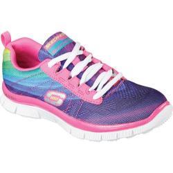 Girls' Skechers Skech Appeal Pretty Please Sneaker Hot Pink/Multi