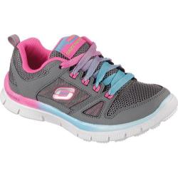 Girls' Skechers Skech Appeal Spectrum Sneaker Gray/Multi