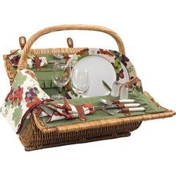 Picnic Time Barrel Pine Green/Nouveau Grape
