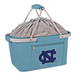 Picnic Time Metro Basket N Carolina Tarheels Embroidered Sky Blue