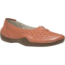 Women's Propet Wren Metallic Melon Full Grain Leather