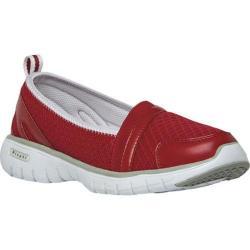 Women's Propet TravelLite Slip-On Red Nylon