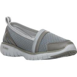 Women's Propet TravelLite Slip-On Silver Nylon