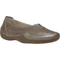 Women's Propet Wren Pewter Full Grain Leather
