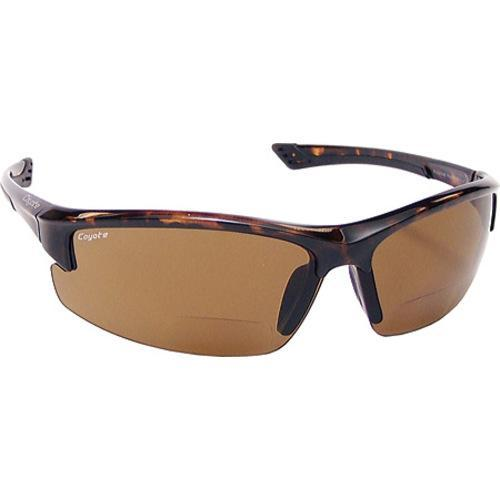 662aed7761c4 Shop Coyote Eyewear BP 7 Polarized Reader +1.50 Tortoise/Brown - On Sale -  Free Shipping Today - Overstock - 10109747