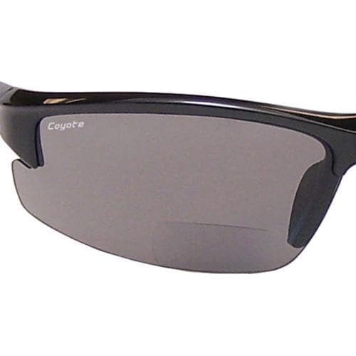 86b029935640 ... Thumbnail Coyote Eyewear BP-7 Polarized Reader Sunglasses Black Gray