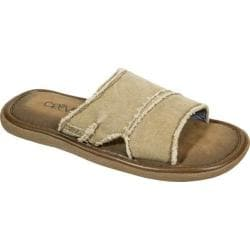 Men's Crevo Fremont II Slide Tan Canvas