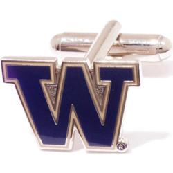 Men's Cufflinks Inc Washington Huskies Purple/Yellow