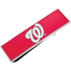 Men's Cufflinks Inc Washington Nationals Money Clip Red