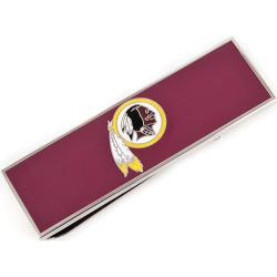 Men's Cufflinks Inc Washington Redskins Money Clip Maroon