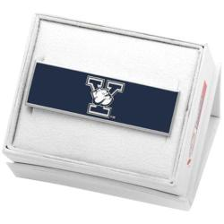 Men's Cufflinks Inc Yale University Bulldogs Money Clip Navy
