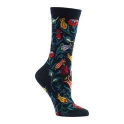 Women's Ozone Turkish Garden Crew Socks (2 Pairs) Navy