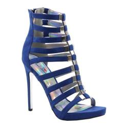 Women's Luichiny Take A Bow Sandal Cobalt Imi Suede