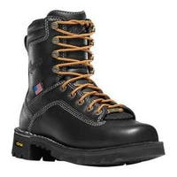 Women's Danner Quarry USA 7in Alloy Toe Black Leather