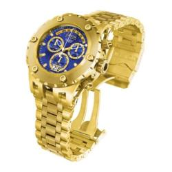 Men's Invicta Subaqua Quartz Chronograph 1567 Gold Stainless Steel/Blue