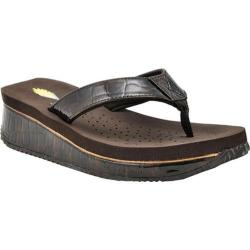 Women's Volatile Downunder Wedge Sandal Brown Synthetic