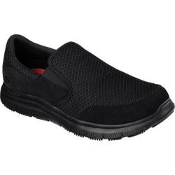 Men's Skechers Work Relaxed Fit Flex Advantage McAllen SR Slip-on Black