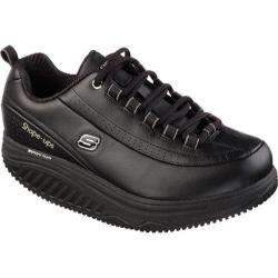 Women's Skechers Work Shape-ups Elon SR Lace Up Black