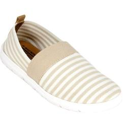 Women's Cliffs by White Mountain Tipton Natural/White Stripe Canvas