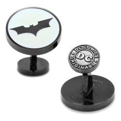 Men's Cufflinks Inc Dark Knight Batman Signal Glow Cufflinks Black