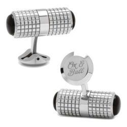 Men's Cufflinks Inc Driver Duo Cufflinks Silver
