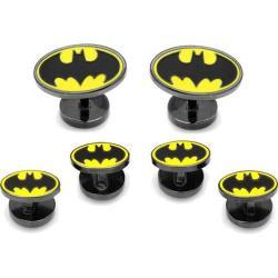 Men's Cufflinks Inc Enamel Batman Tuxedo Stud Set Black