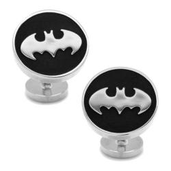 Men's Cufflinks Inc Recessed Batman Cufflinks Black