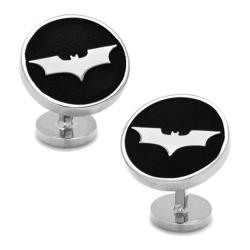 Men's Cufflinks Inc Recessed Batman Dark Knight Cufflinks Black
