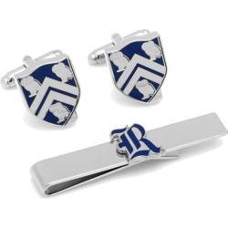 Men's Cufflinks Inc Rice University Tie Bar Gift Set White