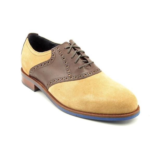 Cole Haan Men's 'Carter Rbr.Saddle' Regular Suede Casual Shoes (Size 7.5 )