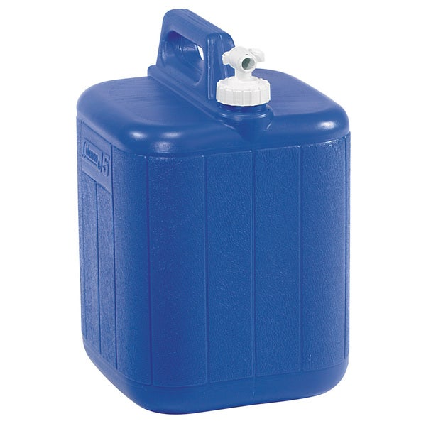 Coleman 5-gallon Water Carrier. Opens flyout.