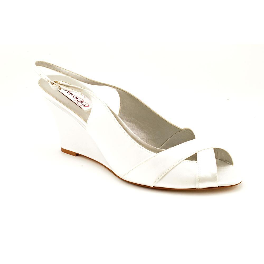 Dyeables Women's 'Coleen' Fabric Sandals (Size 5 ) (Size 5), White