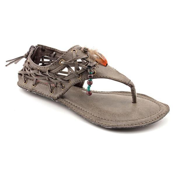 b7cdeb7959c Shop Big Buddha Women's 'Peek' Synthetic Sandals (Size 6 ) - Free ...
