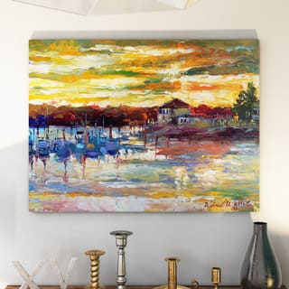 Copper Grove Richard Wallich 'Saco 10' Canvas Art - Multi