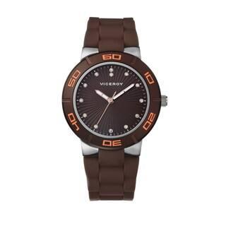 Viceroy Women's Austrian Crystal Rubber Watch (Option: Brown)|https://ak1.ostkcdn.com/images/products/8809441/Viceroy-Womens-Swarovski-Crystal-Rubber-Watch-P16045020.jpg?impolicy=medium