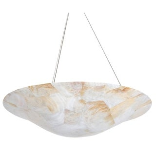 Varaluz Big Reclaimed Shell 4-light Pendant