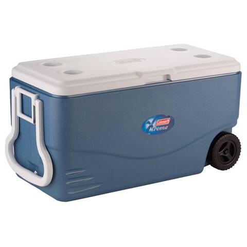 Coleman 100-quart Xtreme Blue Cooler