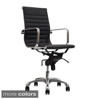 Manhattan Comfort Metro Mid-Back Adjustable Office Chair